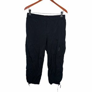 The North Face Black Cropped Cargo Pants